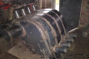 Варим металлическую печь длительного горения