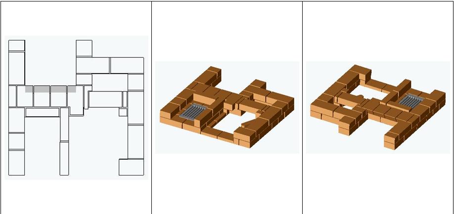 Печь-камин конструкции Рязанкина
