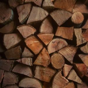 Заготовка дров для печки