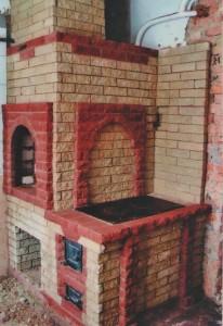 Русская печка с плитой