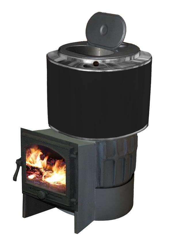 Чугунная печь для бани АТБ