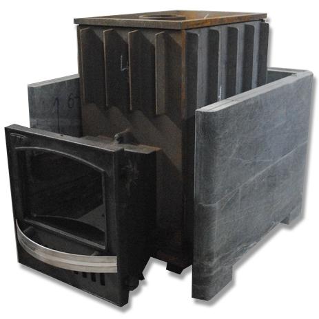 Чугунная печь для бани магнум