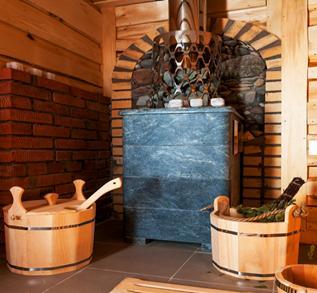 Чугунная печь для бани