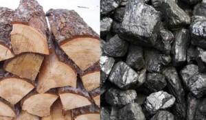 Дрова и уголь