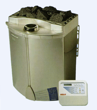 Электрокаменка Helo с парогенератором