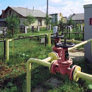 Газ в баню от городской трубы