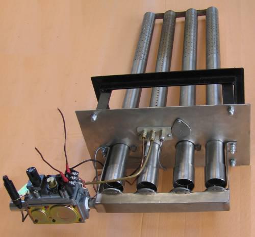 Газовые горелки для банных печей атмосферного типа