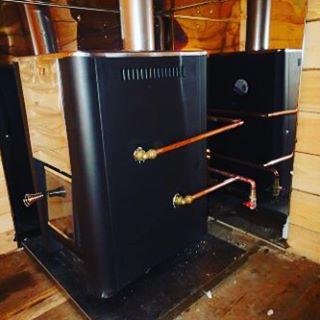 Печь с теплообменником для бани Harvia 20 SL Boiler