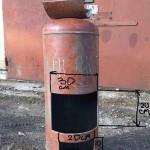 Печь на отработанном масле (отработке) из газового баллона своими руками