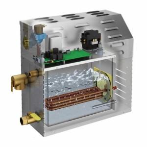 Внутреннее устройство генератора пара
