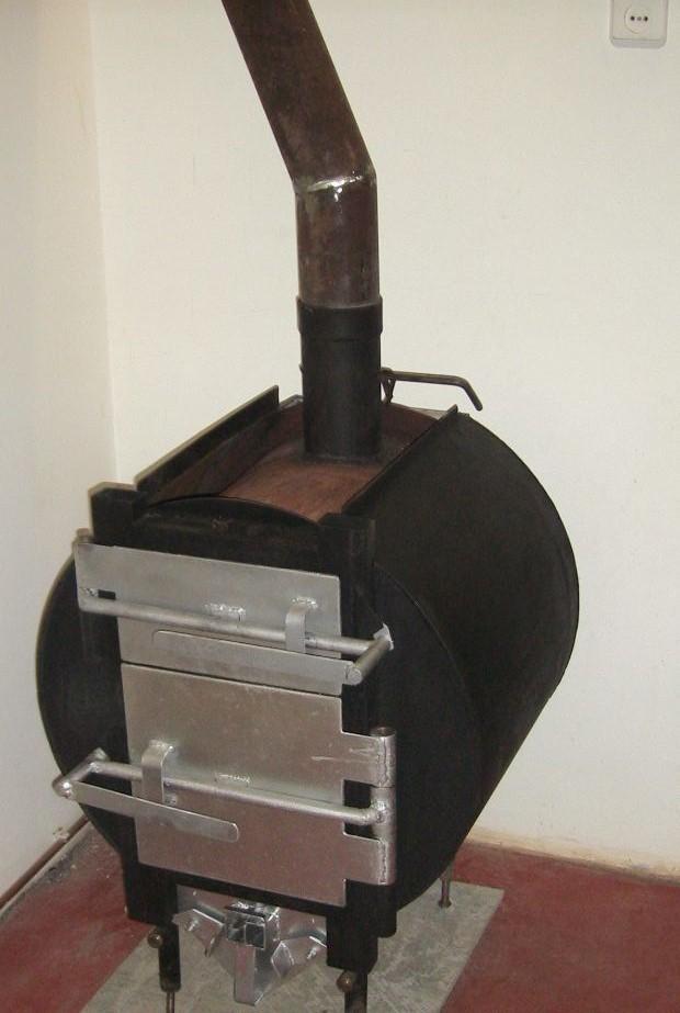 Делаем отопительную печь Бутакова своими руками