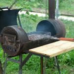4 варианта изготовления переносного мангала из подручных средств