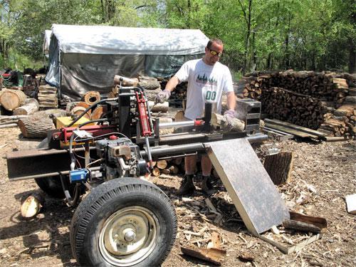 Машины для колки дров