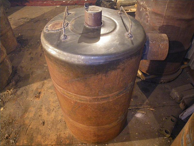 Печь «Бубафоня» из 200-литровой бочки