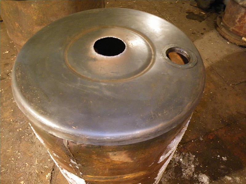 Варим бубафоню из 200 литровой бочки