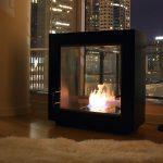 Газовый камин для дома без дымоходной трубы