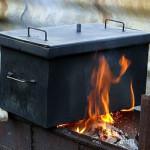 4 варианта изготовления коптильни горячего копчения своими руками