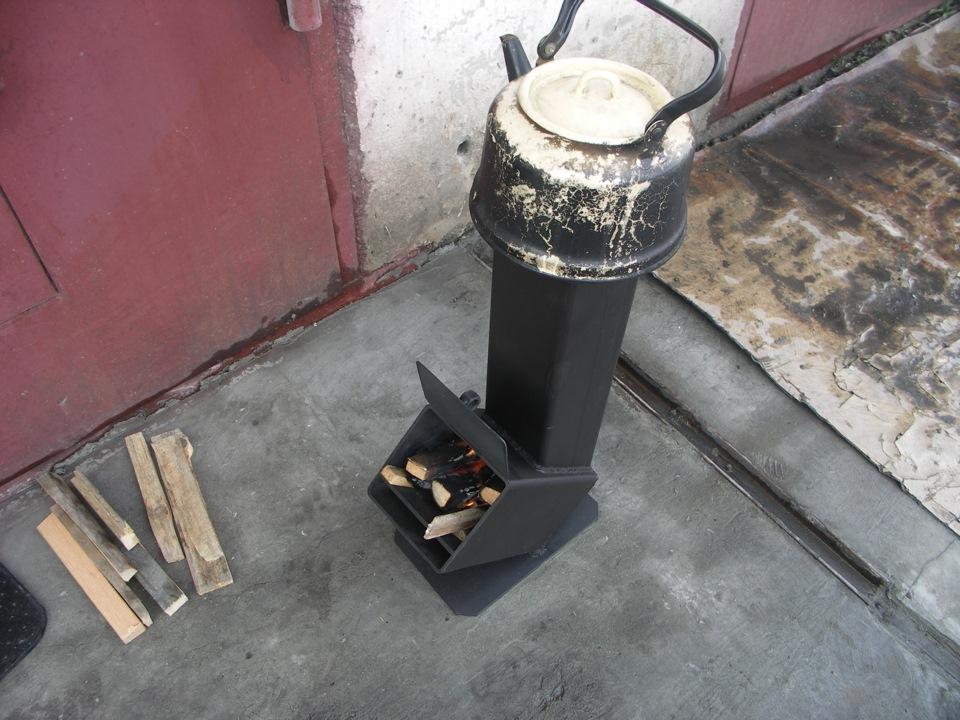 Реактивная печка своими руками фото 670