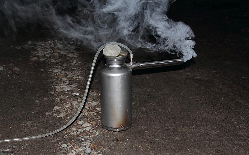 Дымогенератор для коптильни своими руками