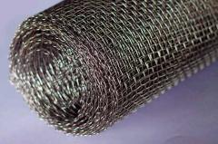 Металлическая сетка для изготовления искрогасителя