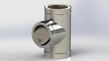 Регулятор (стабилизатор) тяги дымохода