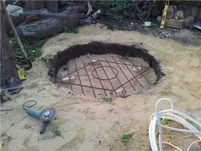 Фундамент под тандыр