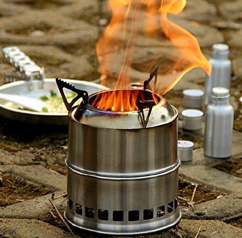 Туристическая печь для палаток