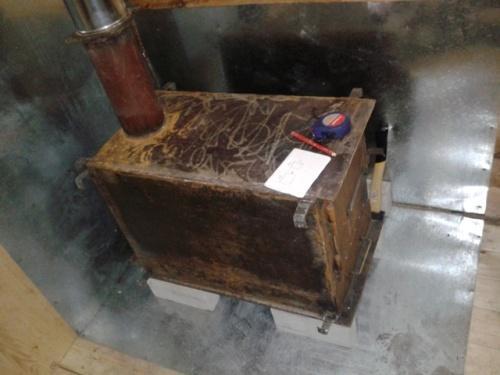 Правила пожарной безопасности при установке буржуйки