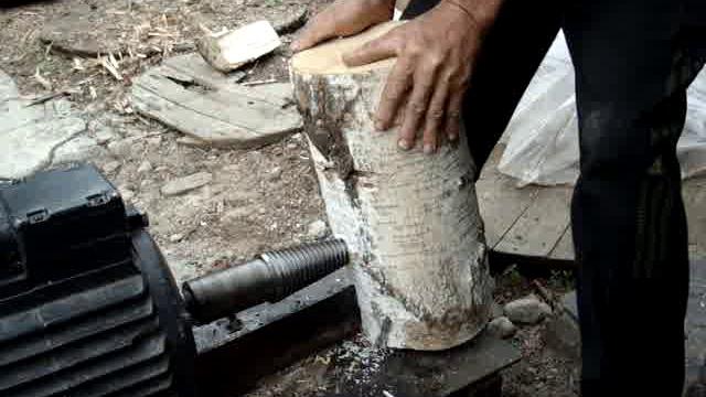 Винтовой колун для дров