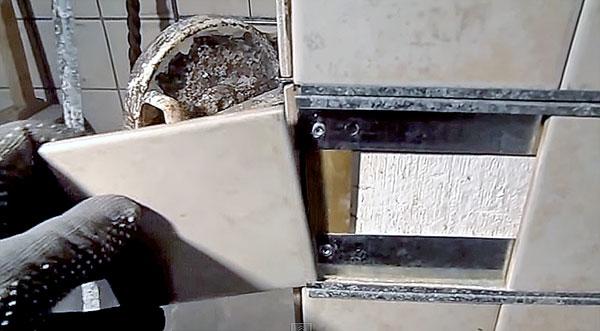 Фиксация плитки
