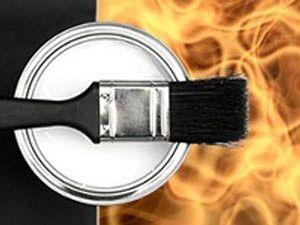 Огнеупорные краски по металлическим изделиям до 1000 градусов