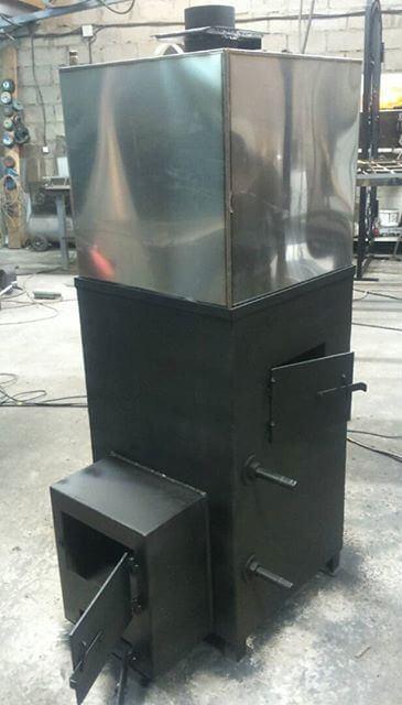 Банная металлическая печь