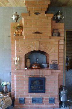 Двухколпаковая печь