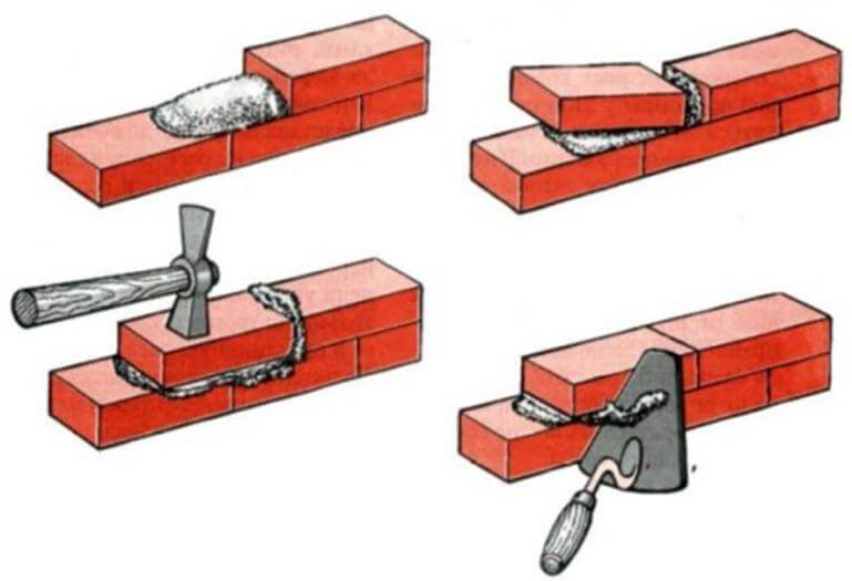 Как правильно класть кирпичи