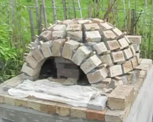 Возводим помпейскую печь на дачном участке
