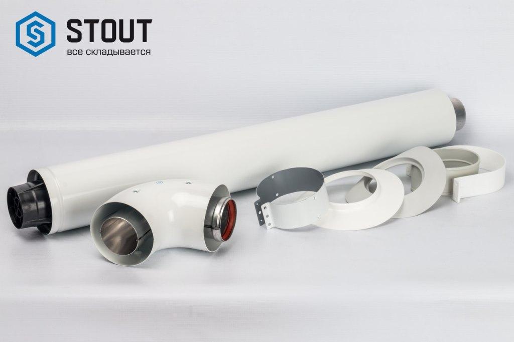 Коаксиальный дымоход STOUT