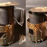 Туристическая (походная) печь: 3 варианта изготовления