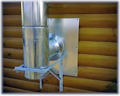 Как правильно установить дымоход из сэндвич-труб через стену