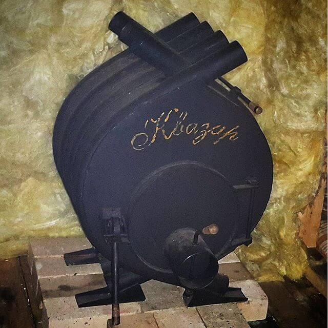 Особенности печей длительного горения, технические решения, применяемое топливо