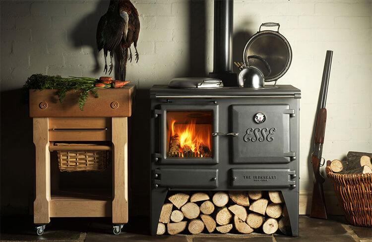 Печи для отопления дачи на дровах