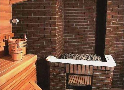 Дровяная печь для бани, изготовленная своими руками