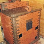Банная печь с закрытым типом каменки своими руками