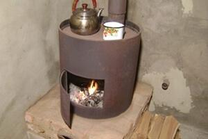 Печь для гаража из кирпича, из металла — как сделать самостоятельно