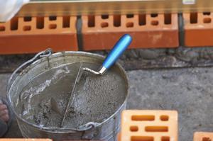 Раствор цемента для кладки печей
