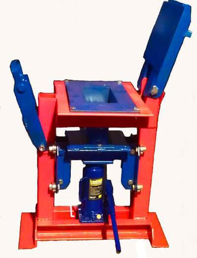 Гидравлический пресс для изготовления брикетов из опилок