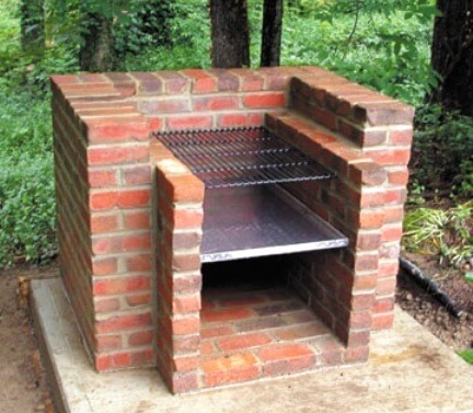 Простейшая садовая печь