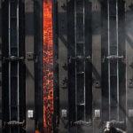 Коксовая печь — для превращения каменного угля в кокс