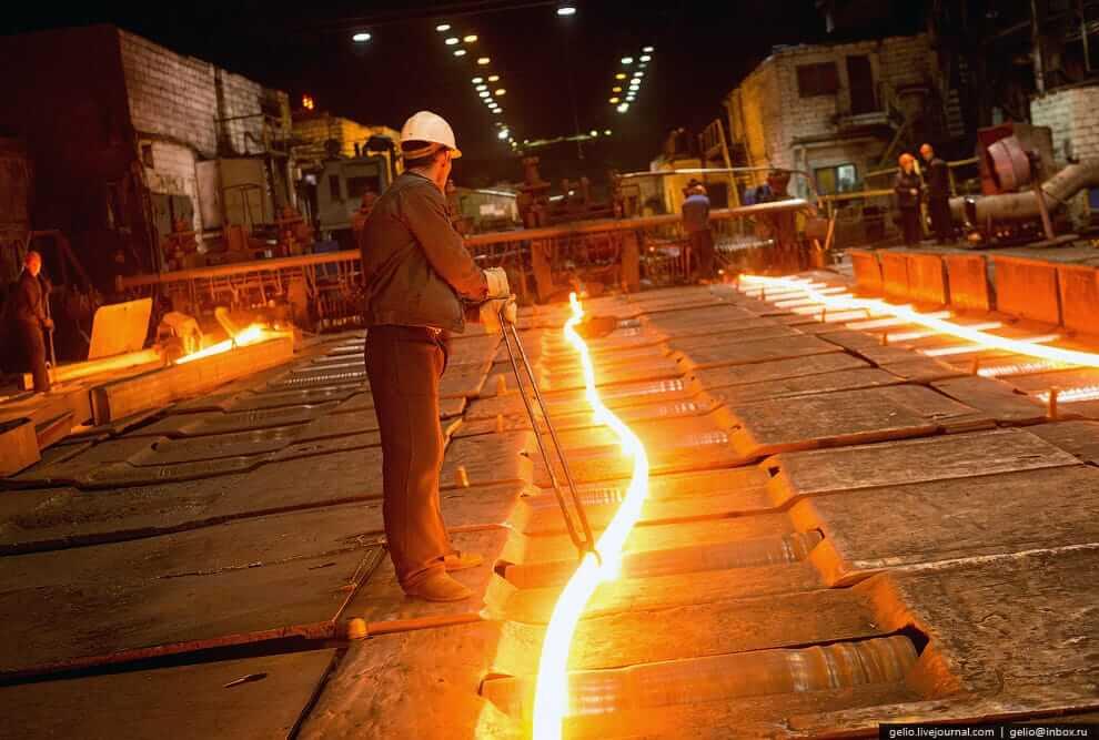 Технологические цепочки в металлургии