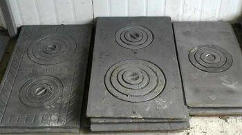 Плиты чугунные для печи