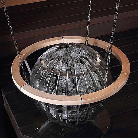 Печь каменка в виде шара